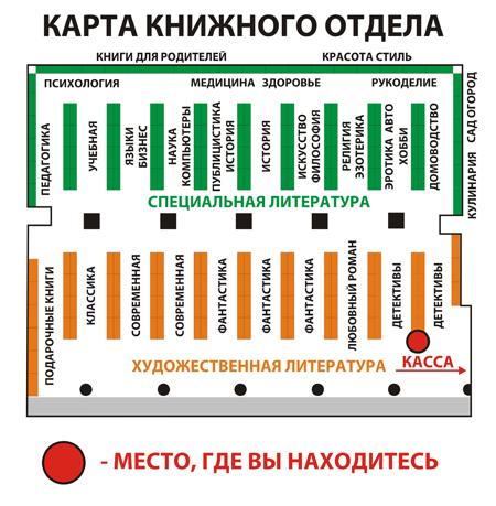 Книжная карта