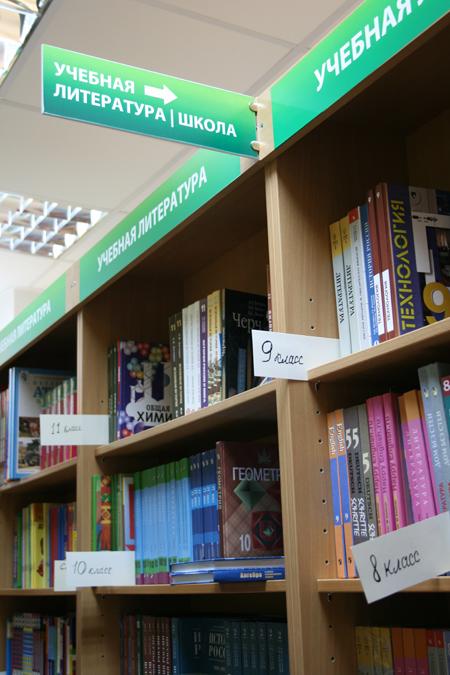 Навигация в книжном магазине