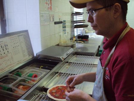 как я делал пиццу