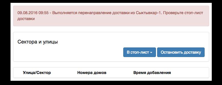 Когда Сыктывкар-1 останавливает продажи, её заказы забирает Сыктывкар-3